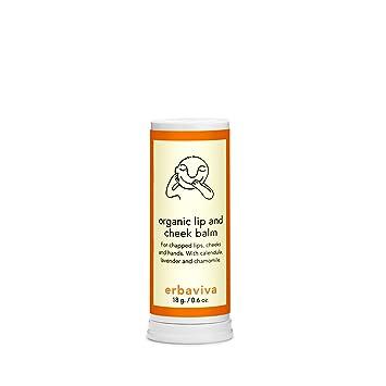 Erbaviva - Organic Lip and Cheek Balm -18g/0.6oz Eight Hour Cream Nourishing Lip Balm SPF 20 Elizabeth Arden 14.8 ml Lip Balm For Women
