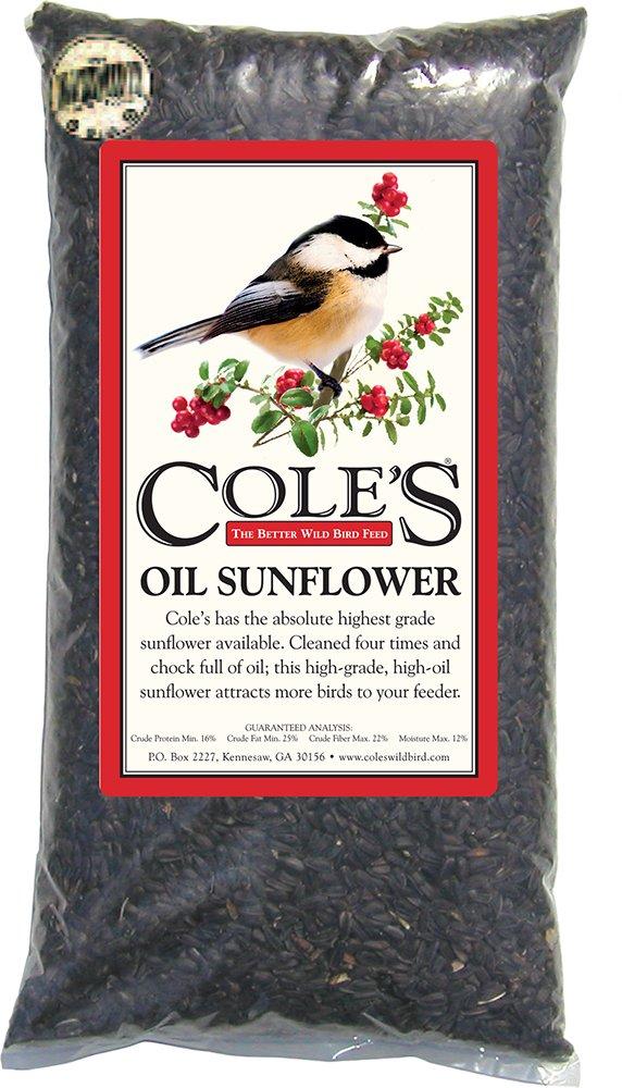 Coles Wild Bird Prod Coles OS16 16 Pound Oil Sunflower