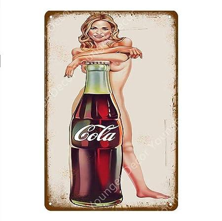shovv Bebidas heladas Decoración Coca-Cola Cola Carteles de ...