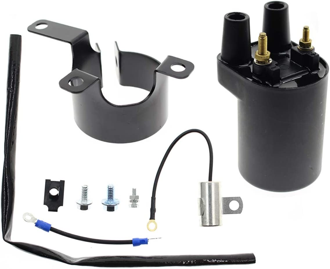 Ignition Coil for Onan Points Models BF B43 B48 NHC CCK Replaces OE#166-0648 166-0772 166-0804 Engine New KanSmart