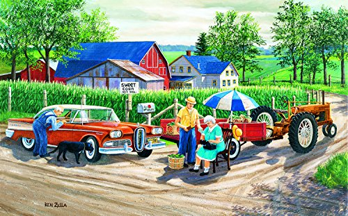 Doc's New Edsel 300 Piece Jigsaw Puzzle by SunsOut