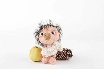 Amazon.es: Juguete artesanal a crochet peluche para ninos regalo original para nino: Juguetes y juegos