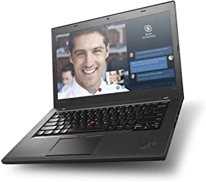 "Lenovo ThinkPad T450 Business Ultrabook (14"" HD Display, i5-5300U 2.3GHz, 4GB RAM, 128GB SSD, Window 10 Pro ) - Black"