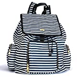 Kaylaa Premium Breast Pump Bag - Backpack (Luxury Stripe) - Fits ALL Breast Pumps, including Hospital Grade Pumps
