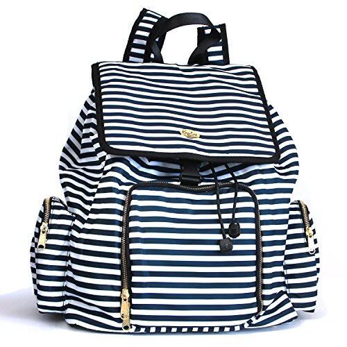 Kaylaa Premium Breast Pump Bag - Backpack (Luxury Stripe) - Fits ALL Breast Pumps, including Hospital Grade Pumps by Kaylaa