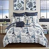 Casa Nautical 7 Piece Comforter Set, 7