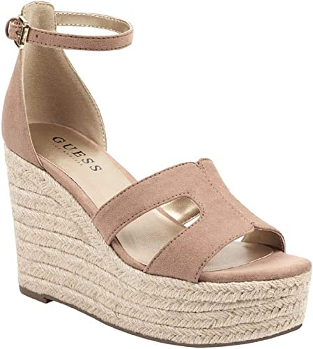 GUESS Factory Ayleen Espadrille Wedges