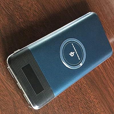 QI - Cargador inalámbrico con cargador y batería portátil de 10000 ...