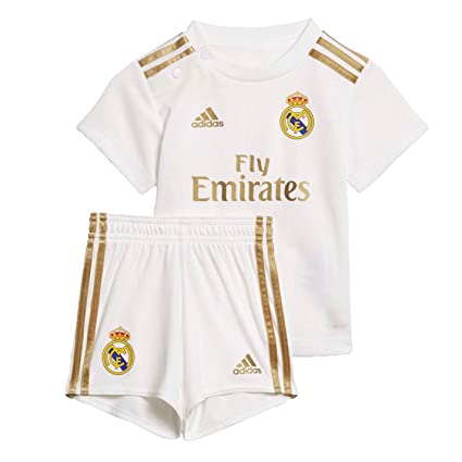 Amazon.com: adidas 2019-2020 Real Madrid Home - Kit para ...