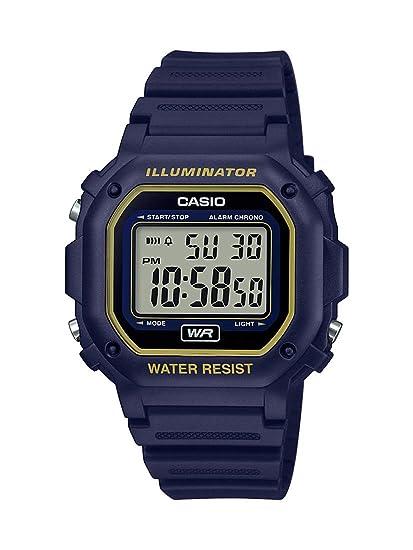 Amazon.com: Casio Illuminator Reloj de cuarzo de acero ...