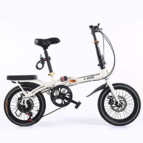 BESTROO 16 Pulgadas Plegable Bicicleta Mini Hombres Y Mujeres ...