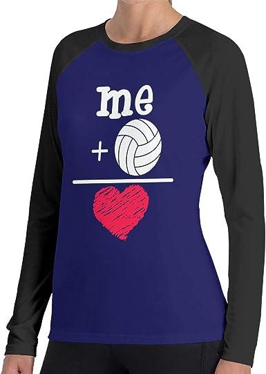 LLiYing-D Pickleball Paddle Ball Heartbeat Adult Mens Sports Long Sleeve Sweater T-Shirts