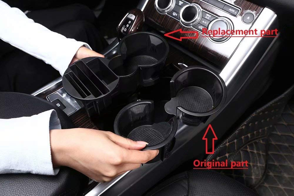 TULIN Plastic Central Console Multifunctional Storage Box Phone Holder Tray Cup Holder For Range Rover Sport 2014 2015 2016 2017 For Range Rover Vogue 2013-2017