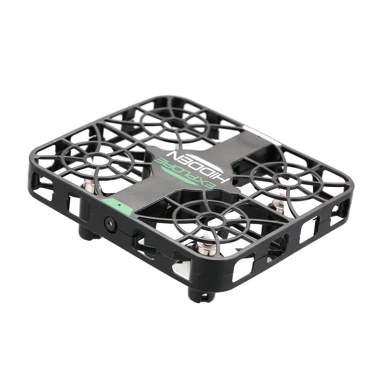 Gugutogo RC Drone QS003 2,4 Ghz Drohne mit Kamera Mini RC Quadcopter Drone Flugzeug UAV mit 0.3MP WiFi FPV Kamera Höhe Halten Crashworthy Struktur 3D Flip