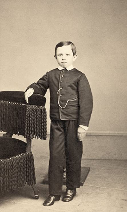 Thomas Tad Lincoln N1853 1871 Youngest Son Of President Abraham Carte