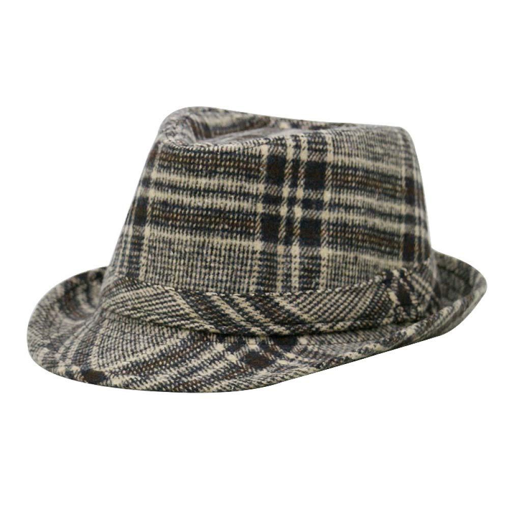 KFEK Sombrero Moda Masculina Cálido Engrosamiento Lana ...