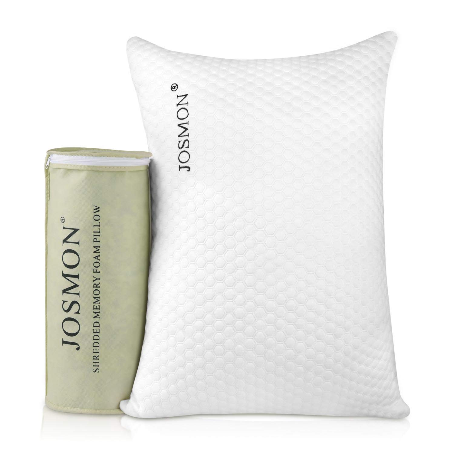 Josmon Shredded Memory Foam Pillow