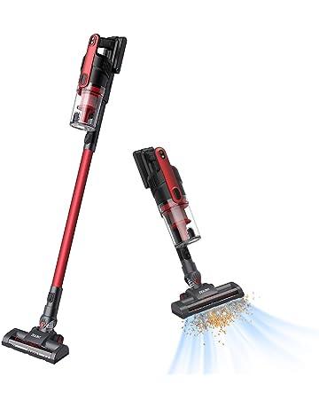 Aspirador Escoba Sin Cable, 8000Pa 2 Modos de Limpieza, Batería recargable extraíble 2200mAh -