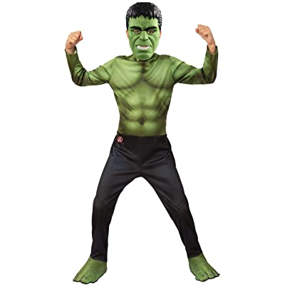 Rubie's Marvel Avengers: Endgame Hulk Children's Costume & Mask, Large: Toys & Games