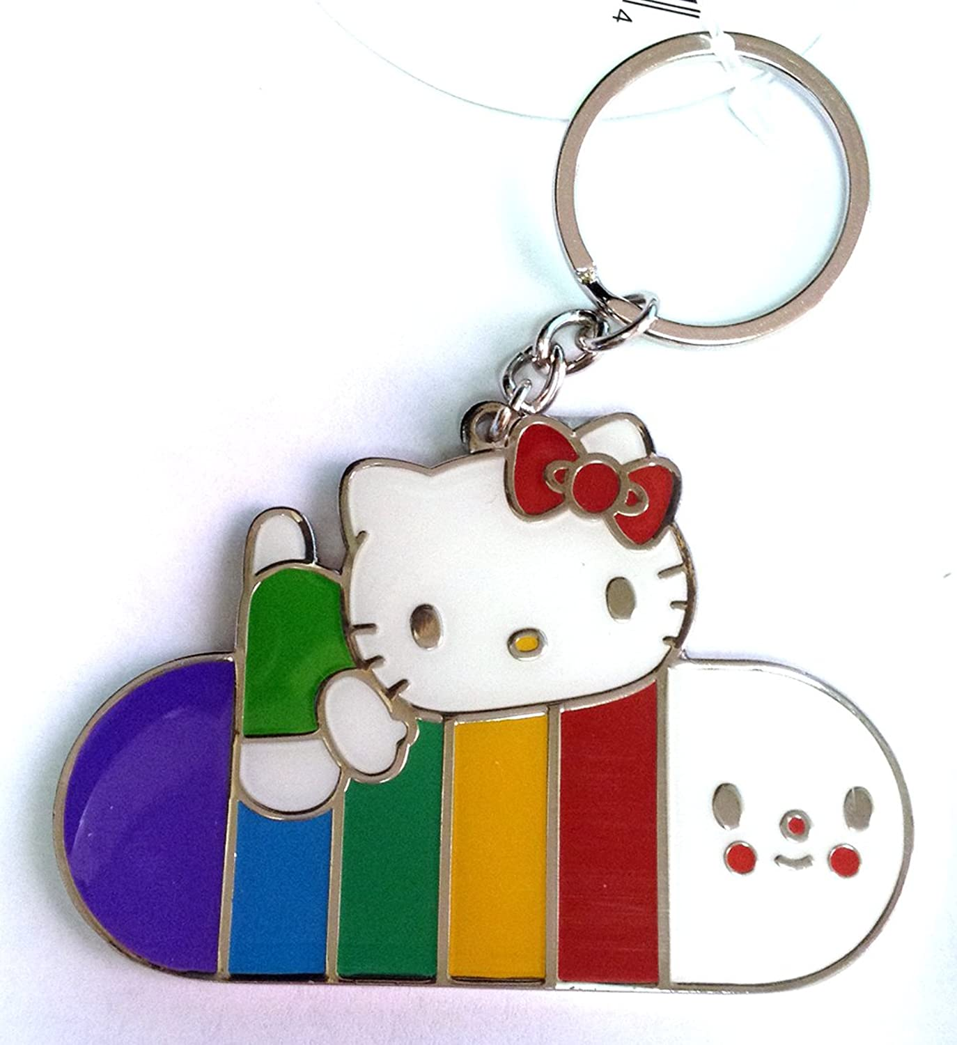 Hello Kitty X Friendswithyou Collaborate to Make Wishes Come True Keychain : Lets Go