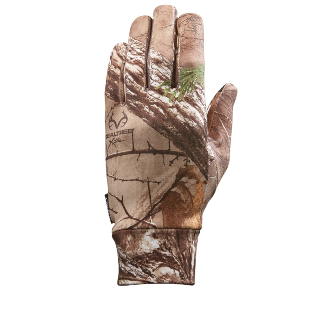 Seirus Soundtouch Dynamax Glove Liner, Camo Realtree Xtra, Large/X-Large