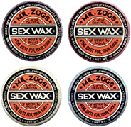 Mr Zogs Sex Wax Original Cool Water Bundle (Scents May Very) (4 pcs)