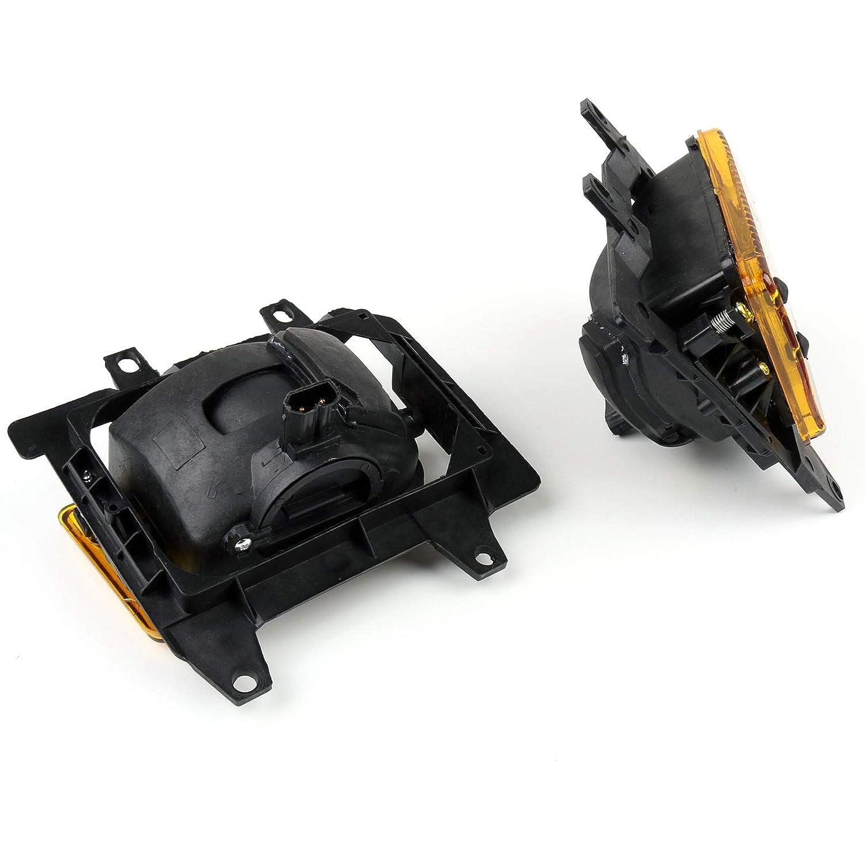 luces delanteras de conducci/ón antiniebla luces de trabajo para 85-93 B-M-W E30 3-Series Sedan luz de conducci/ón redonda Artudatech luces antiniebla para coche