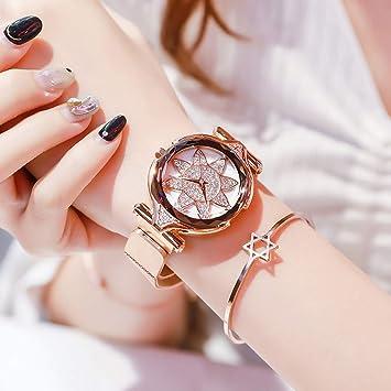 Reloj para Mujer - Reloj De Cuarzo Reloj para Mujer A Prueba De Agua Metal Correa