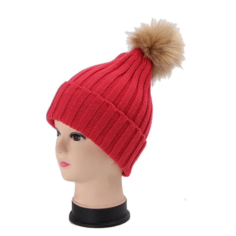 I'MQueen Women's Winter Warm Chunky Crochet Slouchy Beanie Hat Knitted Skull Cap