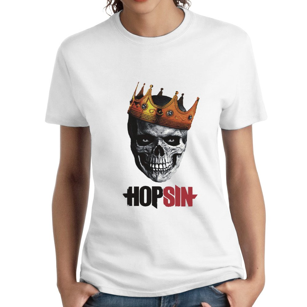 Wulanala Hopsin Pound Syndrome Skull King Short Sleeves T-shirt