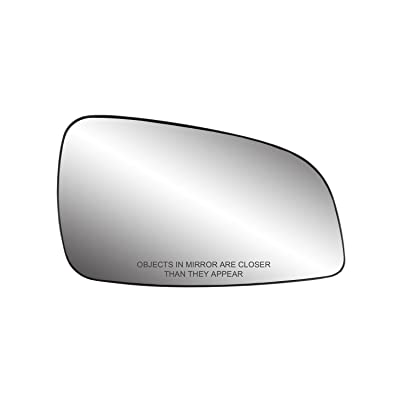 Fit System 80229 Chevrolet/Saturn Right Side Power Replacement Mirror Glass with Backing Plate: Automotive