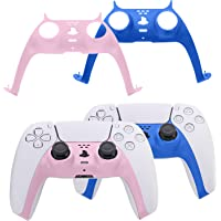 PS5 Controller Plates, PS5 Controller Faceplate, PS5 Controller Accessories - Pink and Blue