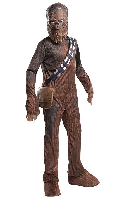 Rubies – Disfraz de oficial Disney de Chewbacca de Star Wars para niño – talla S