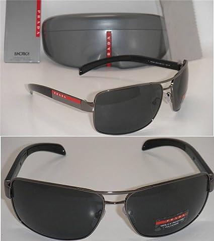 Amazon.com: Nueva auténtico Prada anteojos de sol PS 54is 5 ...