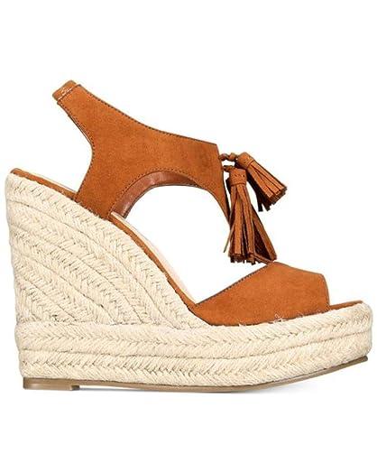 Womens Edith Open Toe Casual Platform Sandals