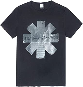 Amplified Red Hot Chilli Peppers Duct Tape Mens T-Shirt