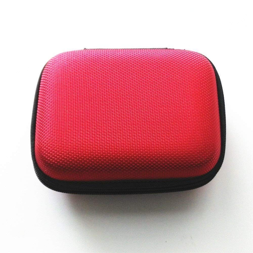 Schutzhü lle Tasche Cover fü r Gameboy Advance SP GBA SP Konsole  –   Rot Perfect Part