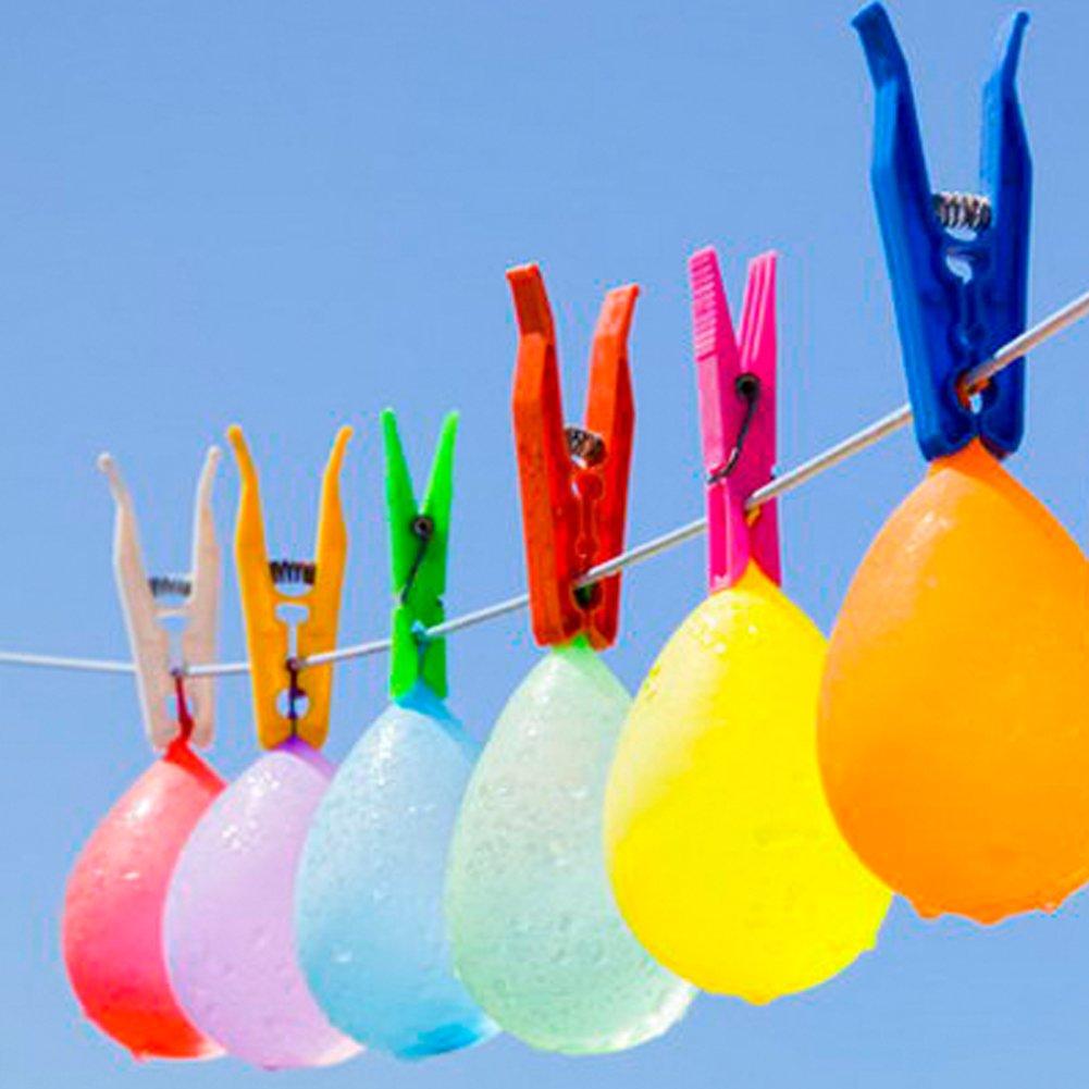 GOOBAT Quick Fill Water Balloons, Instant Self-Sealing Water Balloons-333 Multi-Color Water Ballons, Summer Splash Fun for Kids & Adults