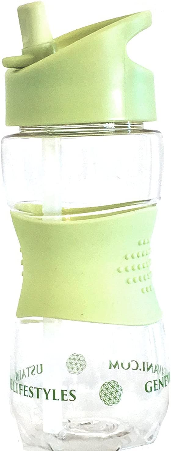 hecha de Trit/án de alta calidad con cepillo de acero inoxidable para limpieza de pajita libre de bisfenol A Botella de agua higi/énica para ni/ños antimoho