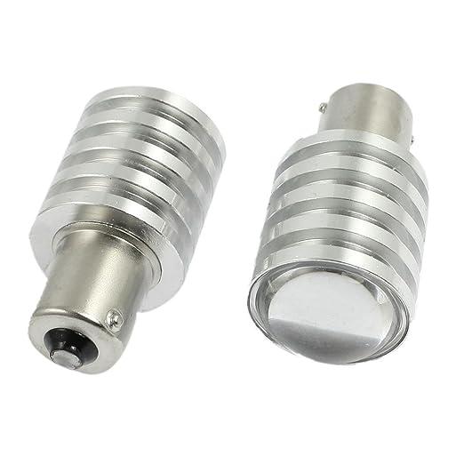 3 opinioni per 2 pezzi auto 1156 BA15S P21W LED bianco lampadina Turn freno posteriore fanale
