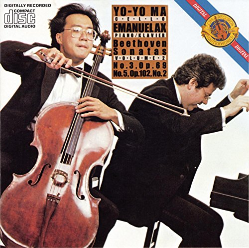 Beethoven Sonatas for Cello & Piano Volume 2: No. 3, Op. 69 & No. 5, Op. 102, No. 2 (Sonatas Cello Two)