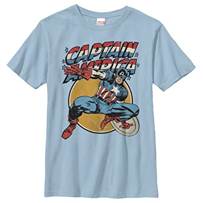 Marvel Boys' Captain America Shield T-Shirt