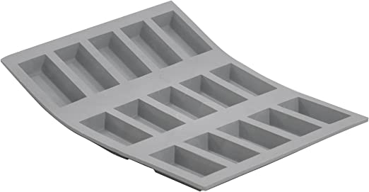 21 x 17.5 x 1 cm Silikon grau DE BUYER Miniformen