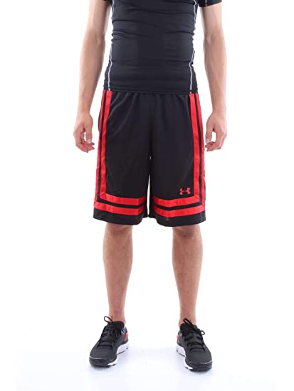 Under Armour UA Baseline 10in Short 18 Corto de Baloncesto, Hombre ...