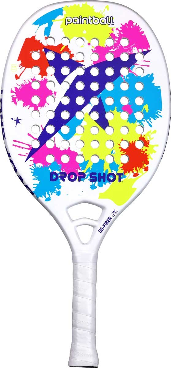 DROP SHOT Paintball BT Pala Beach Tenis, Unisex Adulto, Azul, 330-360 gr: Amazon.es: Deportes y aire libre