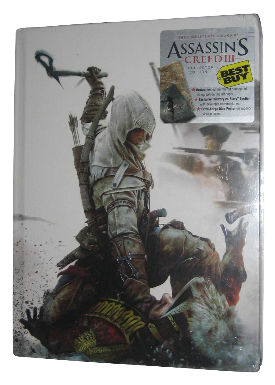 Assassin's Creed III Collector's Edition Strategy Guide Hardcover[Best Buy Exclusive Edition]