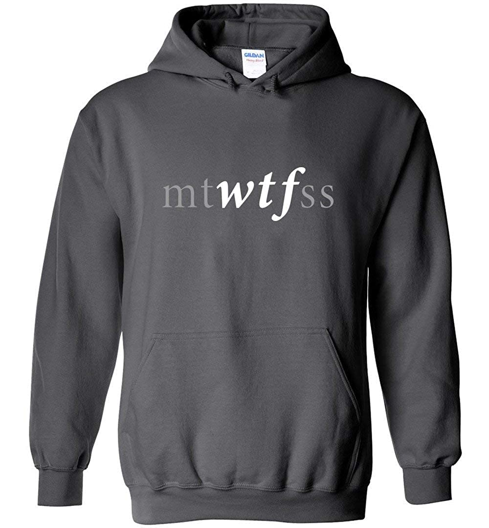 Funny Office Shirts Mtwtfss Days The Week WTF Shirt Sweatshirt Hoodie