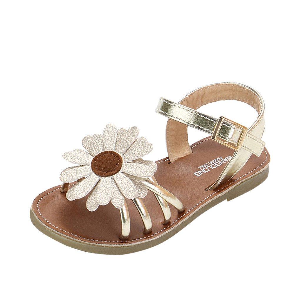 Ni/ña Flores Zapatos Verano Zapatos de Princesa Sandalias para 0-8 A/ños Casual Fiesta Diario Zapatos beb/é Lonshell