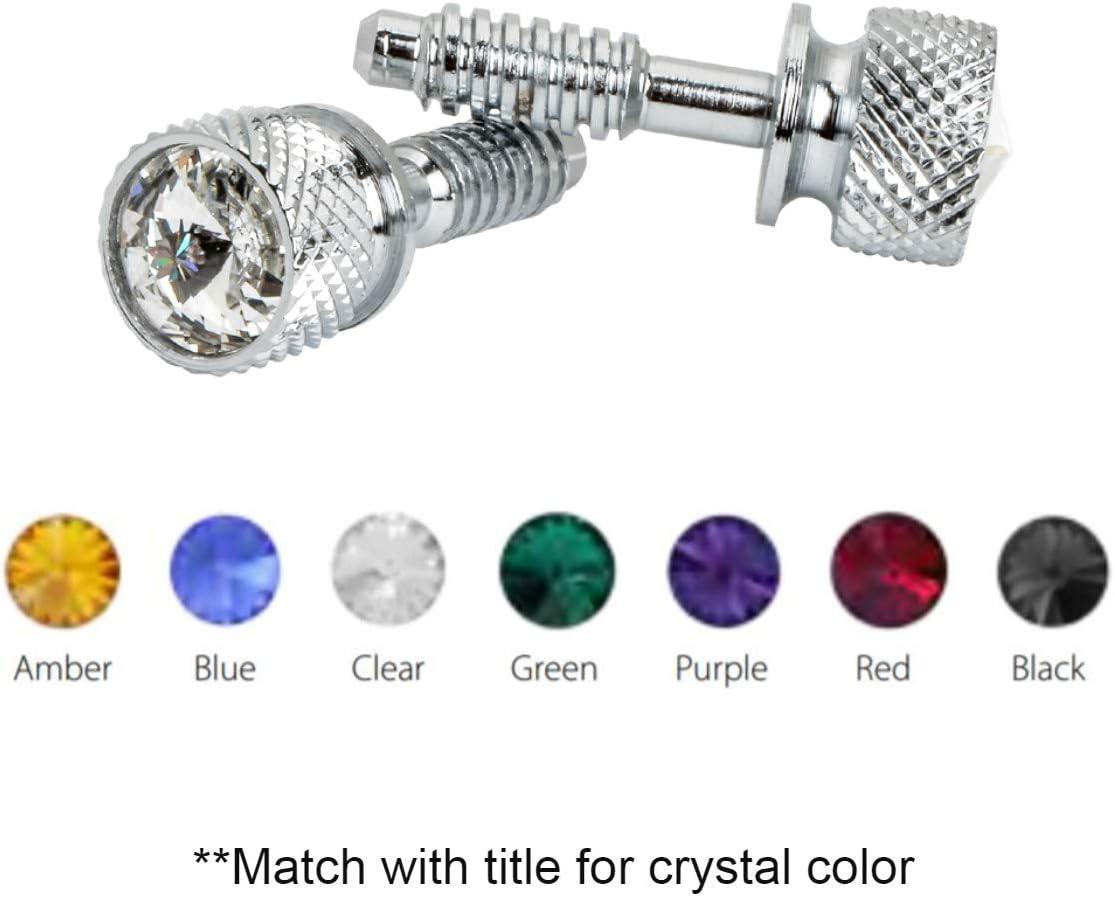 GG Grand General 67094 Cr Dash Screw w/Purple Crystal for Peterbilt