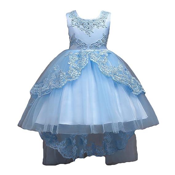 Vestido De Niña Floral Bowknot Vestido Princesa Vestido
